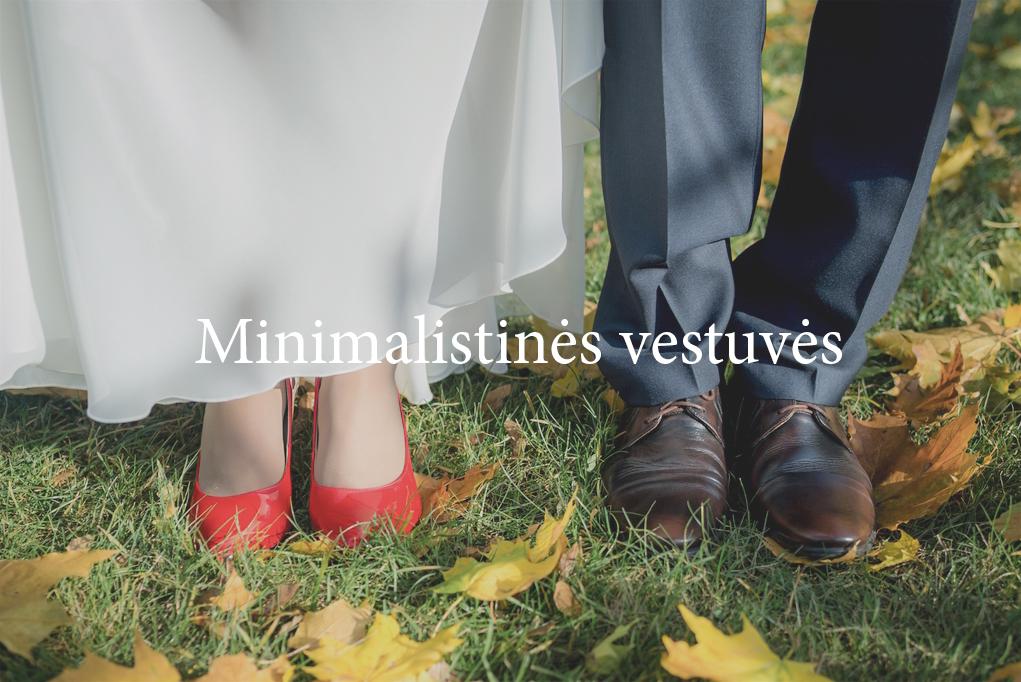 Minimalistinės vestuvės